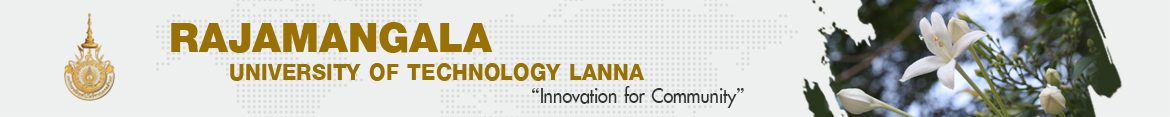 Website logo 2017-03-08 | Finance Division Rajamangala University of Technology Lanna